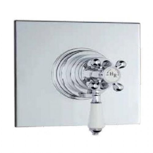 Eastbrook Thermostatic Concealed Dual Handle Shower Valve - Chrome